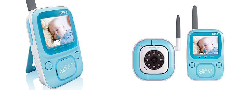 Infant Optics DXR-5 2.4 GHz Digital Video Baby Monitor