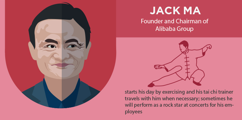 Jack Ma Morning Routine