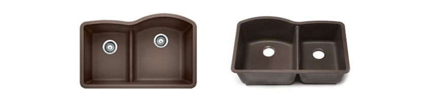 Blanco 441609 Diamond 1.75 Low Divide Under Mount Reverse Kitchen Sink