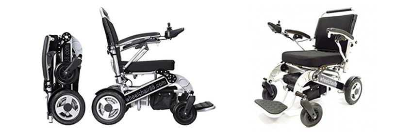 Foldawheel PW-1000XL Power Electric Wheelchair