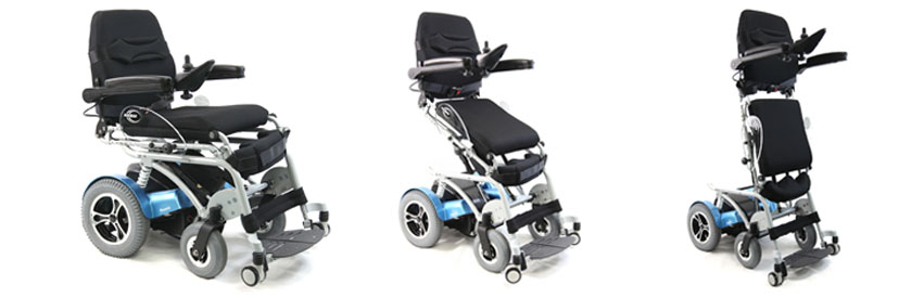 Karman 18 Inch Full Power Stand Up Chair with Companion Controller