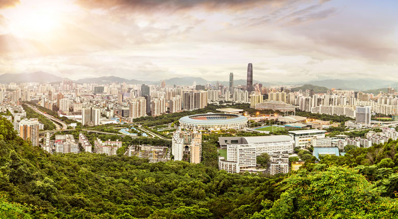 tourist city of china