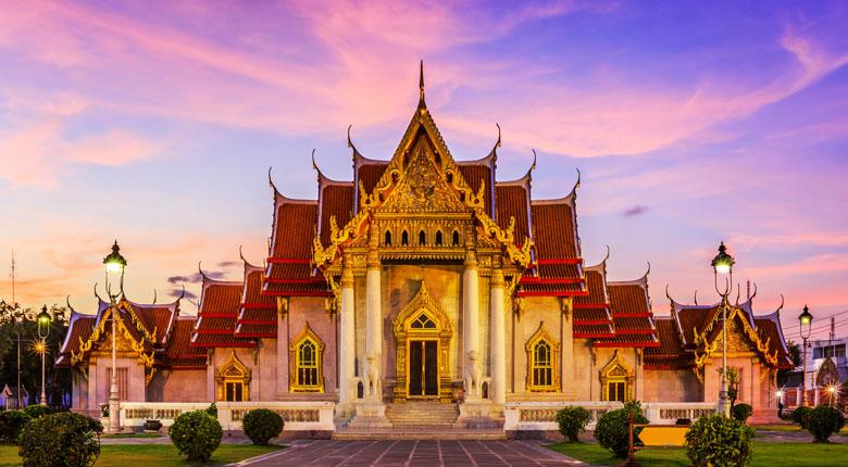 tourist city of thailand