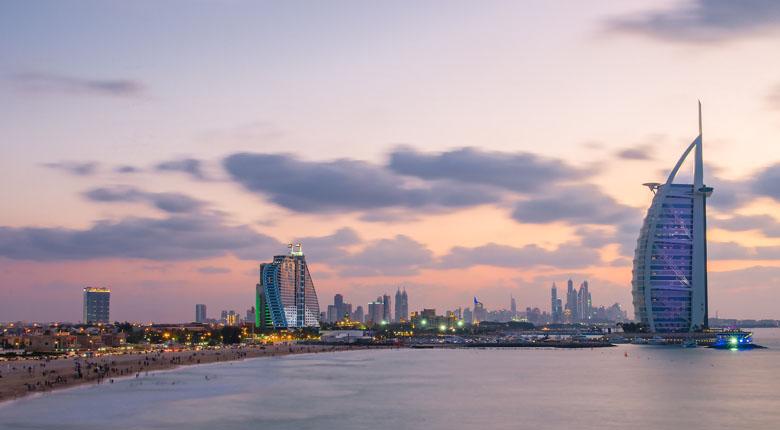 Stop in Burj Al Arab