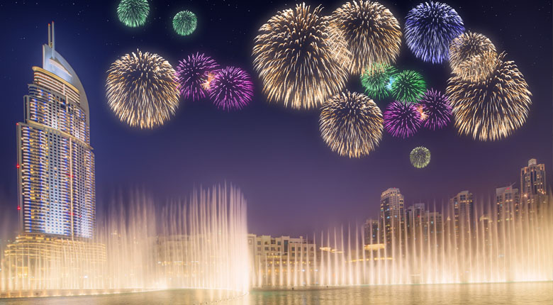 Watch the Dubai Fountains