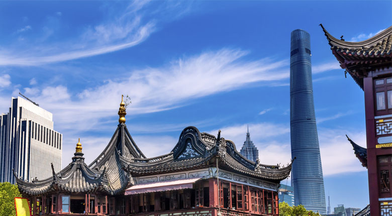 famous tower of china