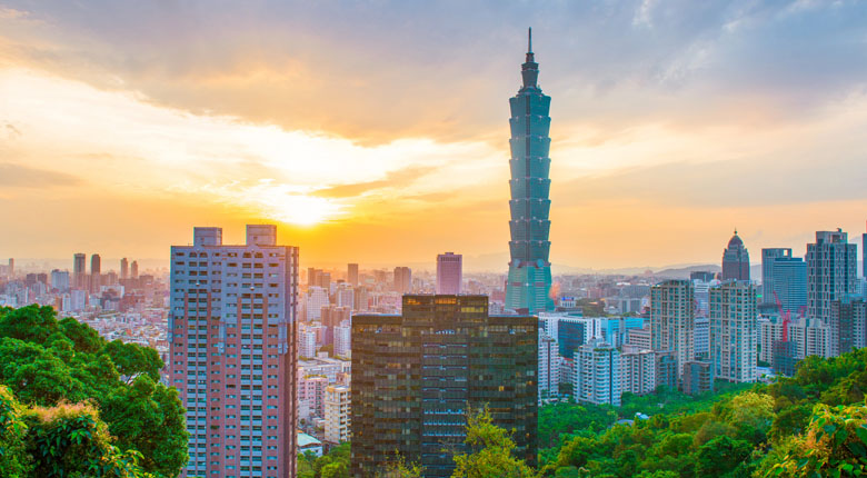 Famous Taipei Tower