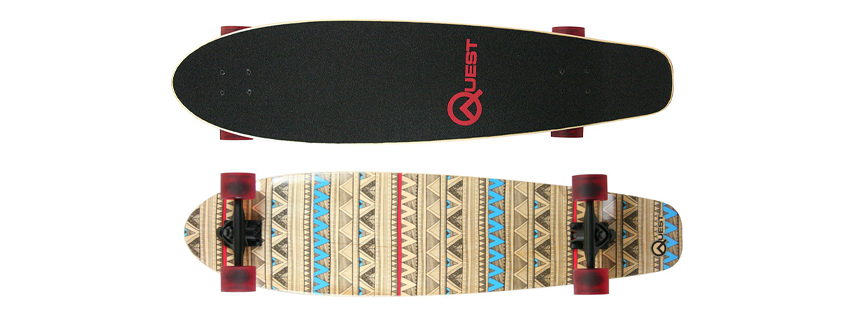 Quest Kick Tail Longboard