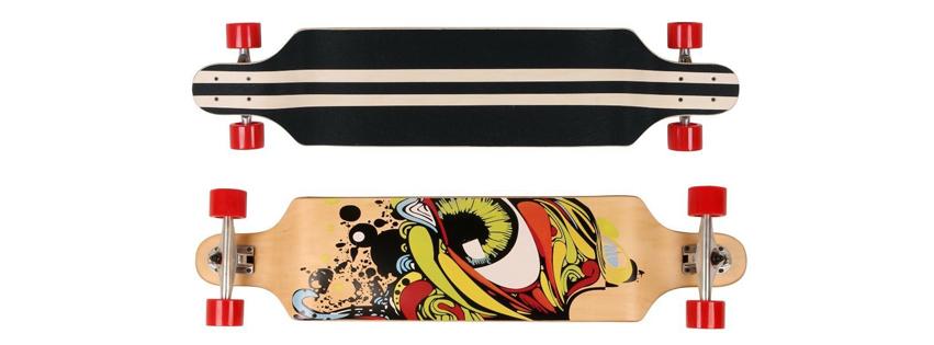 Rimable 41 Inch Longboard