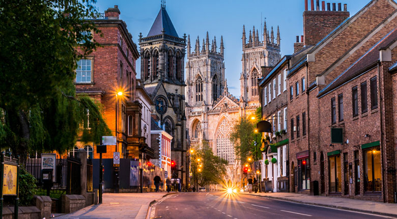 York is popular destination in the UK