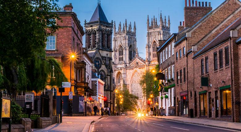 York is popular destination in the UK