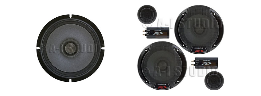 Alpine SPR C Car Audio Component System