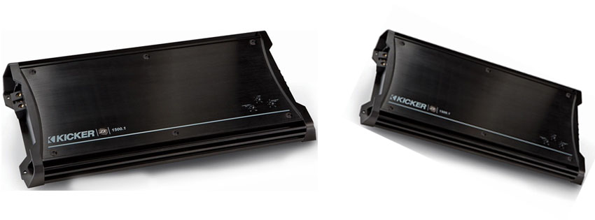 Kicker ZX Mono Subwoofer Amplifier