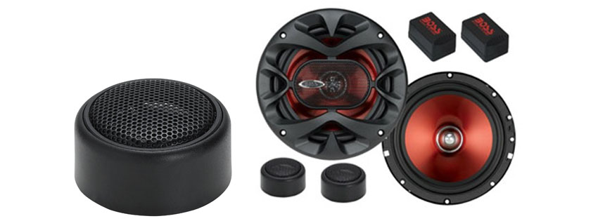 BOSS Audio CHCK Chaos Exxtreme way auto Component Speaker
