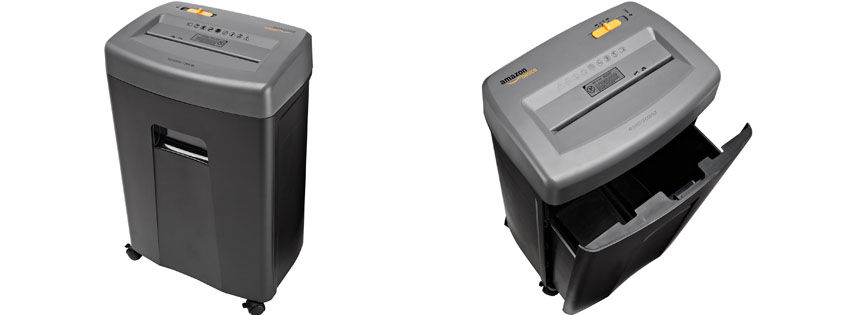 AmazonBasics Cross Cut Shredder
