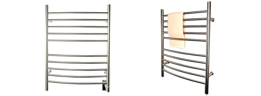 Amba RWH CB Radiant Hardwired Curved Towel Warmer