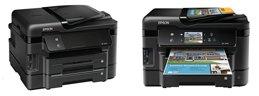 Epson WorkForce WF Wireless All-in-One Color Inkjet Printer