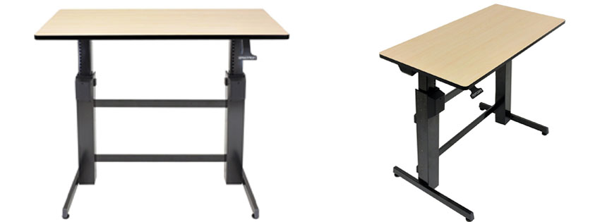 Ergotron WorkFit D Sit Stand Desk