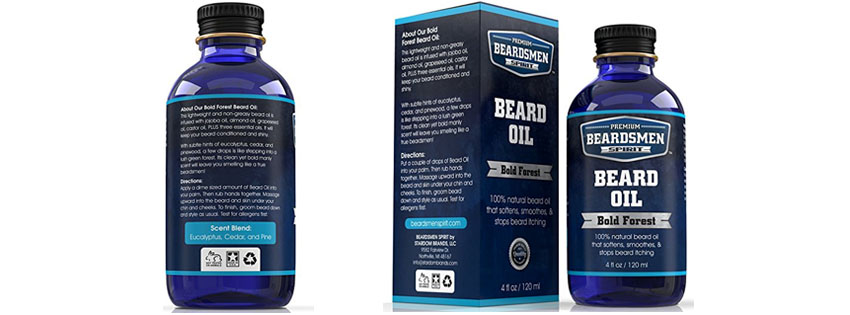 Beardsmen Spirit Premium Beard Oil Conditioner
