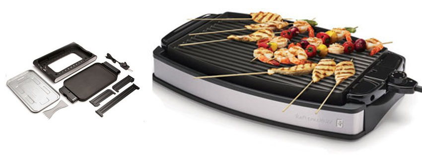 Wolfgang Puck Indoor Electric Reversible Grill Griddle