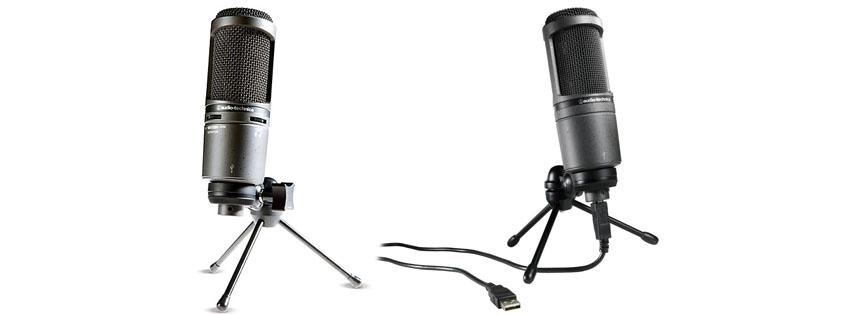 Audio-Technica ATUSB Cardioid Condenser USB Microphone