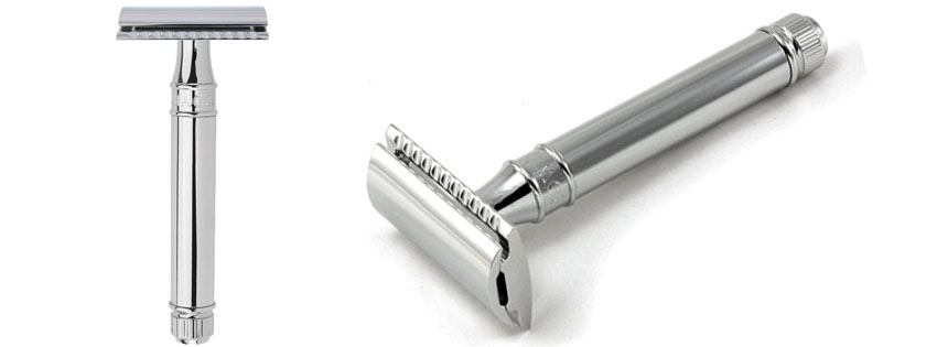 Best Edwin Jagger Chrome Plated Double Edge Safety Razor