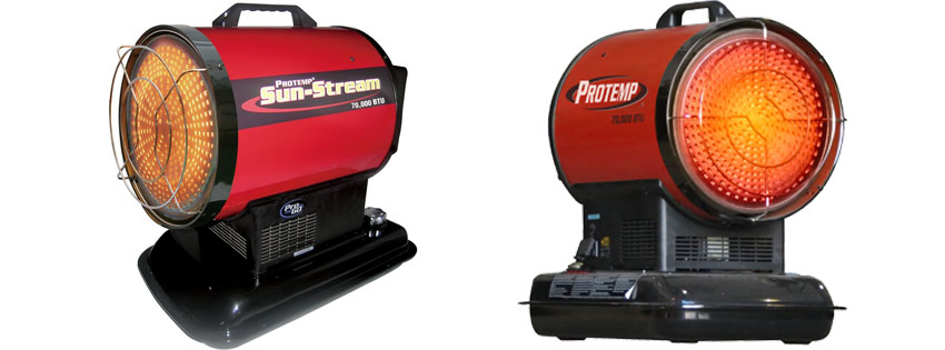 Pro-Temp Kerosene Radiant Sun Stream Heater