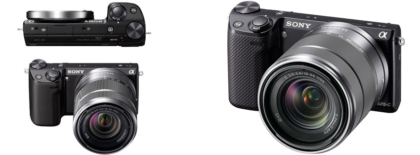 Sony NEX KB MP Mirrorless Digital Camera