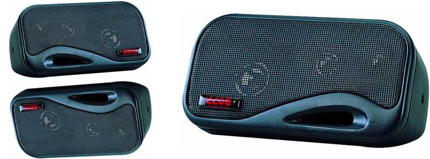 BOSS AUDIO AVA Enclosed System Speakers