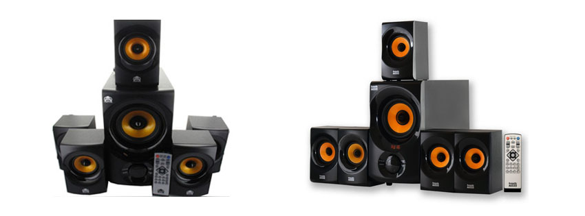 Acoustic Audio AA Home Theater Bluetooth Speaker System