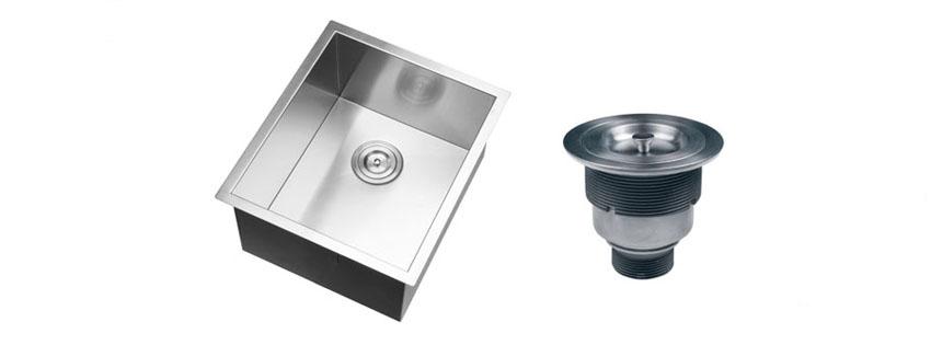 Ruvati RVH Undermount Gauge Bar Single Bowl Sink