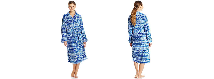 Intimo Womens Plush Robe