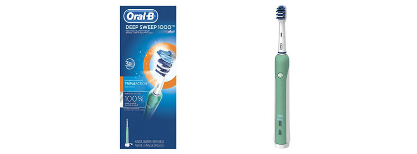 Oral-B Deep Sweep Electric Rechargeable Toothbrush
