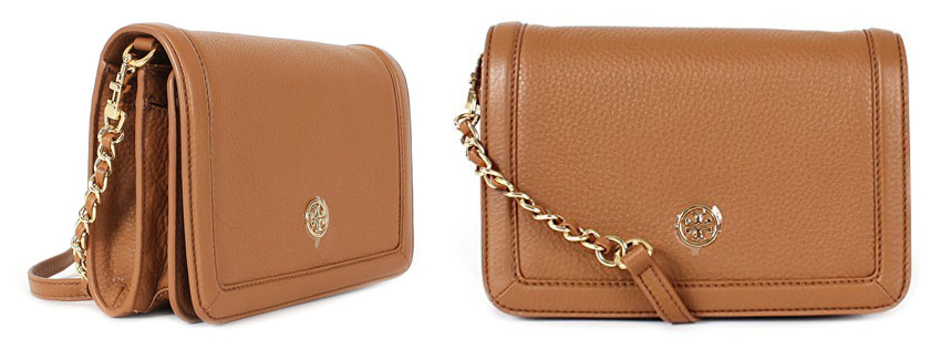 Best Tory Burch Landon Combo Pebbled Leather Crossbody This Designer Handbag