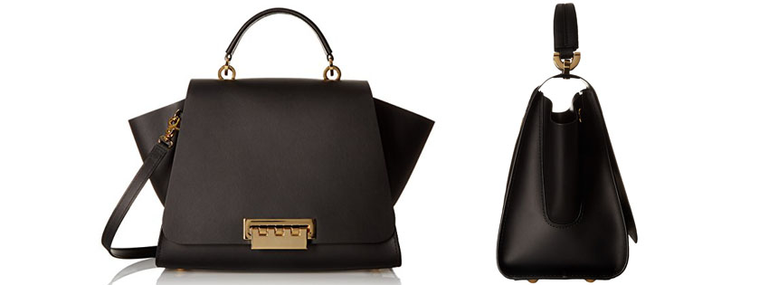 Best ZAC Zac Posen Womens Eartha Soft Top Handle Bag