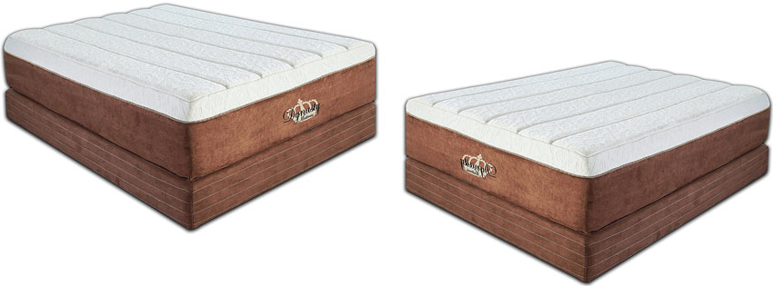 Dynasty Mattress NEW Memory Foam Mattress, Eastern King Size