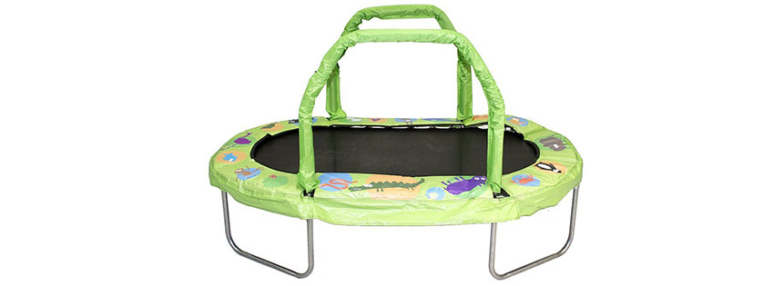 JumpKing Mini Oval Trampoline