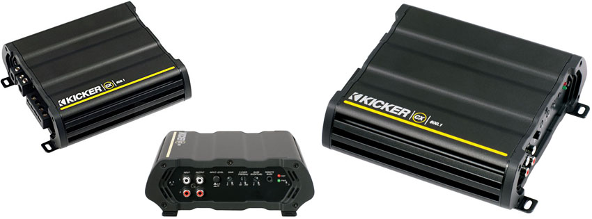Kicker Mono 600 Watt Amplifier