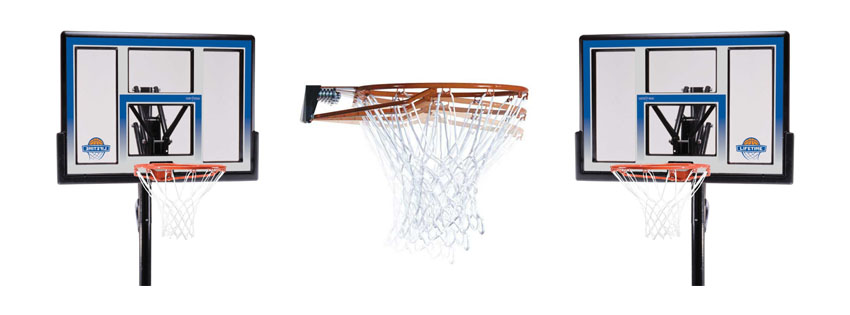 Lifetime 90020 Height Adjustable Basketball System