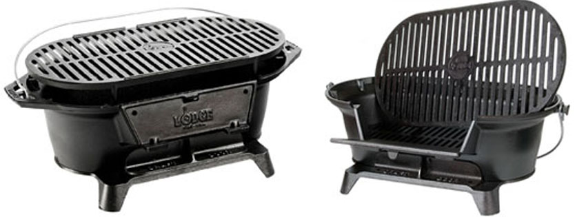 Lodge Pre Seasoned Charcoal Grill