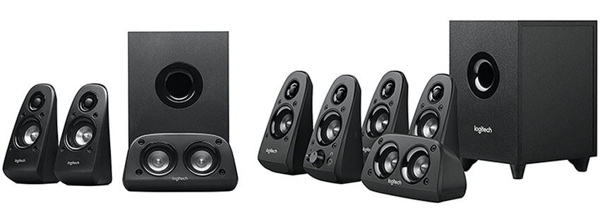 Logitech Surround Sound Theater Speaker System