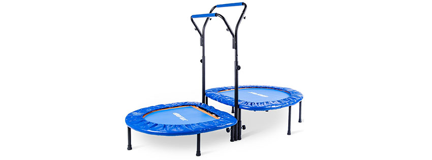 Merax Kids Mini Trampoline Parent-Child Trampoline