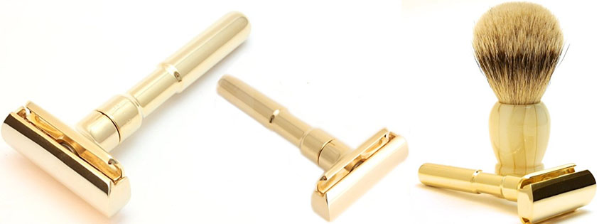 Premier Rasage Heavy Brass Safety Razor