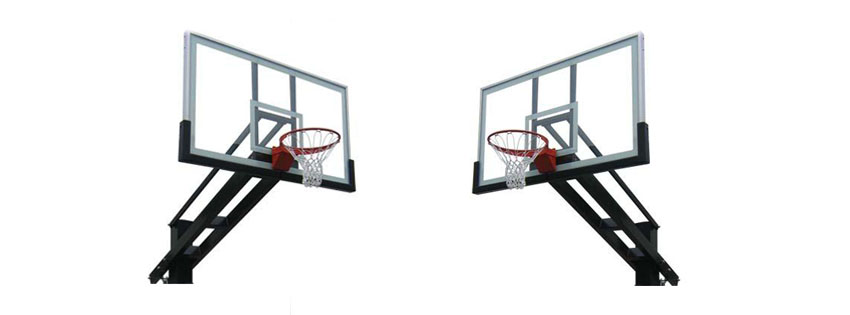 Pro Dunk Platinum Adjustable Outdoor Basketball Goal Hoop