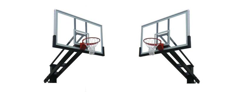 Pro Dunk Platinum Adjule Outdoor Basketball Goal Hoop