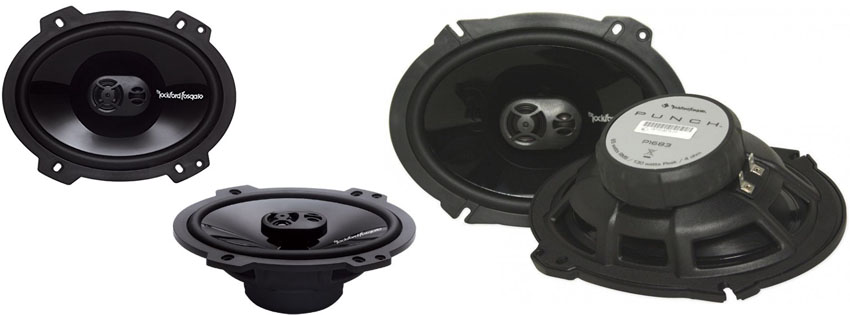 Rockford Fosgate Punch P1683 Speakers