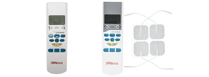 Santamedical Electronic Tens Unit Handheld Pulse Massager