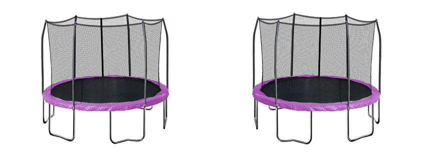 Skywalker Trampolines – 12ft Enclosure and Spring Pad