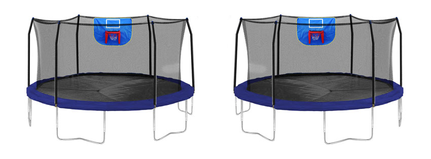 Skywalker Trampolines – 15ft Jump N' Dunk Basketball Hoop