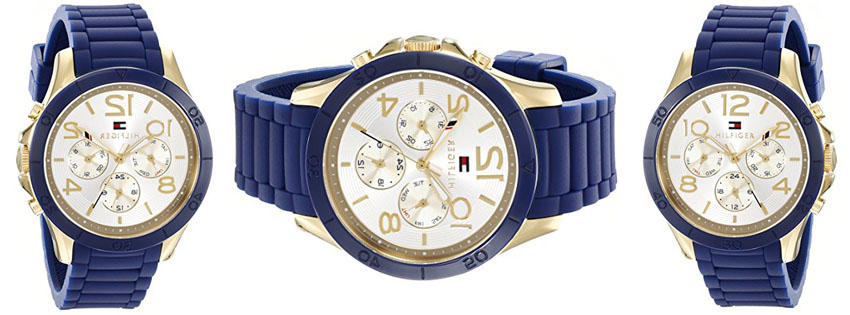 Tommy Hilfiger Women's Sophisticated Sport Analog Display